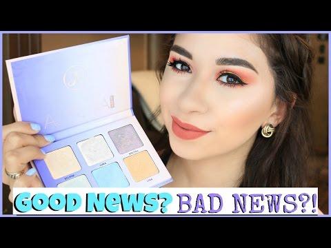 NEW Anastasia Beverly Hills Aurora Glow Kit Review | Good News or Bad News?!