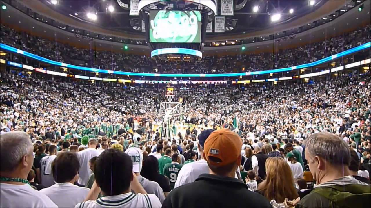 Let's Go Celtics!! Boston Fans Chanting at TD Garden 2013 NBA Playoffs - YouTube