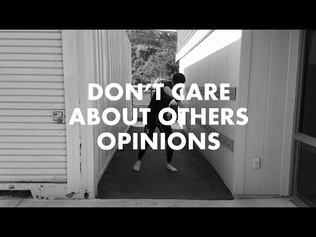 STOP CARING ABOUT WHAT PEOPLE THINK OF YOU