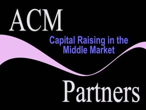 Capital Raising in the Middle Market