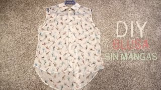 DIY Cómo hacer una blusa básica (patro...