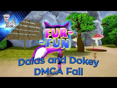 Fur-Fun Controversy ends: Dalas and Dokey DMCA Fail