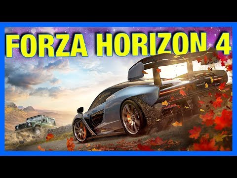 Forza Horizon 4 Gameplay : BUYING HOUSES, CUSTOMIZATION, UNITED KINGDOM  & MORE!!