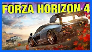 Forza Horizon 4 Gameplay : BUYING HOUSES, CUSTOMIZATION, UNITED KINGDOM  & MORE!!
