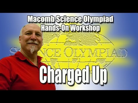 Elementary Science Olympiad Charged Up event workshop