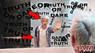 PLAYING TRUTH OR DARE AT 3AM!! *OMG I CAN