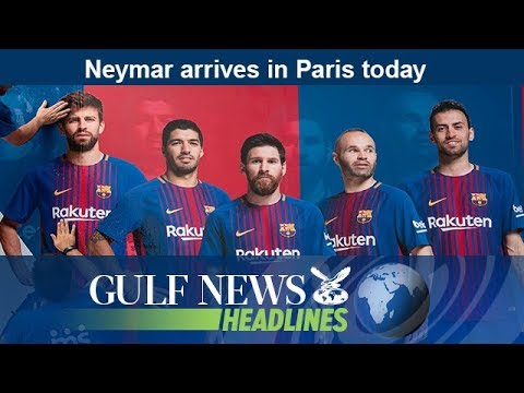 Neymar arrives in Paris today - GN Headlines