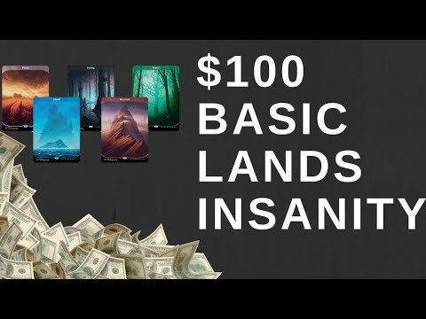 $100 Basic Lands In Unstable How Did This Happen?