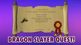 [OSRS] Dragon Slayer Quest guia [ESPAÑOL] 2020