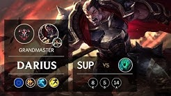 Darius Support vs Thresh - EUW Grandmaster Patch 10.2