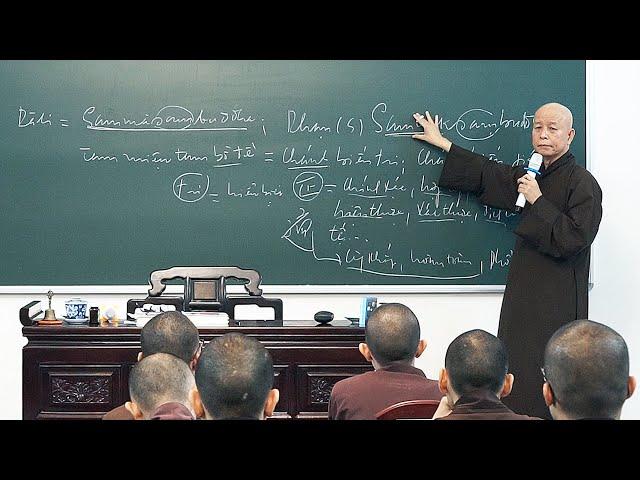 GIỚI LUẬT PHẬT GIÁO - BÀI 20 - MƯỜI PHẨM TÍNH GIÁC NGỘ CỦA PHẬT - CHÁNH BIẾN TRI
