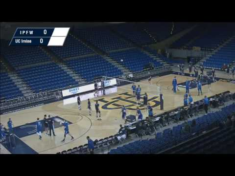 UCI Men's Volleyball vs IPFW (1-3-17)