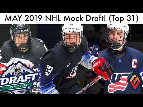 May 2019 Nhl Mock Draft Top 31 Prospect Rankings Kakko Hughes