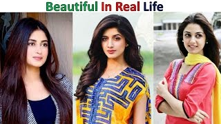 Pakistani Actress without makeup, Who Look Beautiful in Real Life