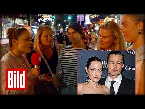 Pitt und Jolie Trennung: Umfrage in Hollywood zur Scheidung