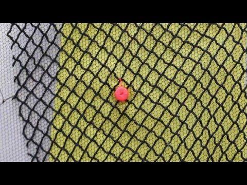 1-bit Textile : Eye of the fishing net