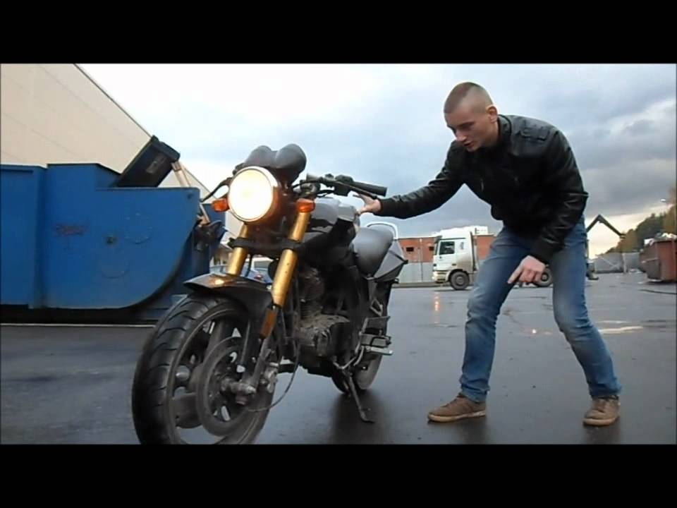 77. Baltmotors Street 125 DD Motorcycle (МОТО БЛОГ 2014) - YouTube