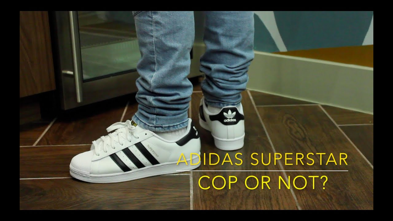 Adidas Superstar Unboxing/On Feet - YouTube