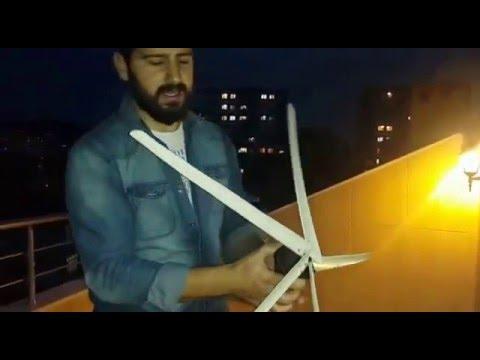 el yapımı rüzgar türbinleri tarık akyol