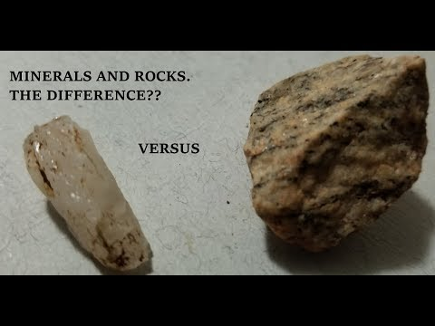 Rocks vs Minerals!!
