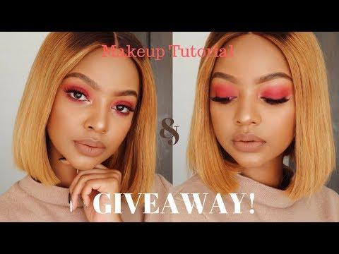 Makeup Tutorial In Xhosa + 70K Giveaway | MIHLALI N