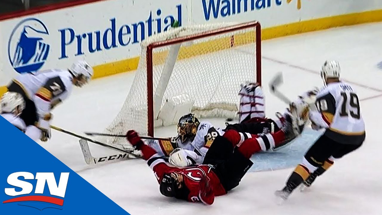 Nico Hischier s OT Goal Caps Furious Rally For Devils Over Golden Knights 22ced064c