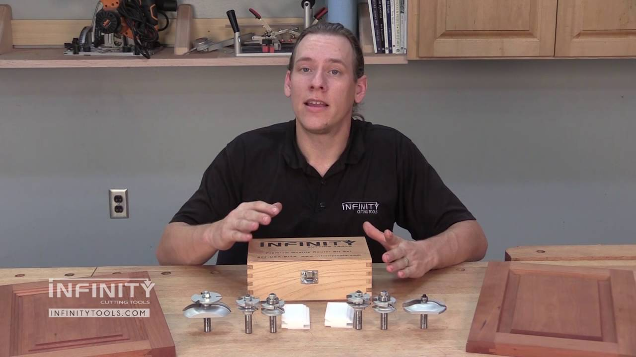Making Raised Panel Cabinet Doors With 3 Pc Router Bit