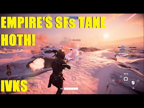 Star Wars Battlefront 2 - Empire's Special Forces take Hoth! Iden Versio Killstreak! thumbnail