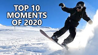 10 Best Snowboarding Moments of 2020