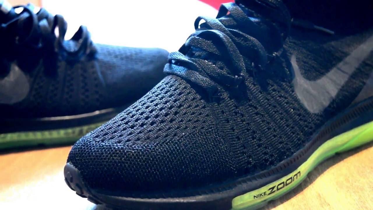 e52d691d7bf9 Nike Lab all out Zoom fly knit ........ What I had on feet! - YouTube