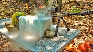 DRY ICE vs the FIFTY!  (Mind Blown!!!)