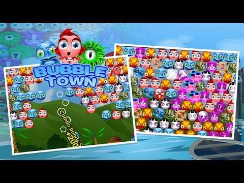 Bubble Town Trailer