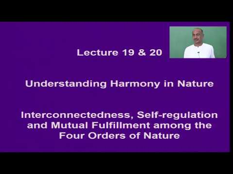 Lect 19 20  NAT   Harmony in Nature