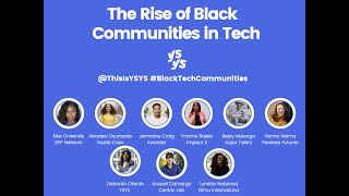 The Rise of Black Communities  in Tech: How to Mobilise Influence and Ally