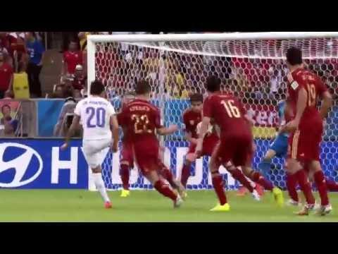BBC FIFA World Cup 2014 Spain vs Chile montage