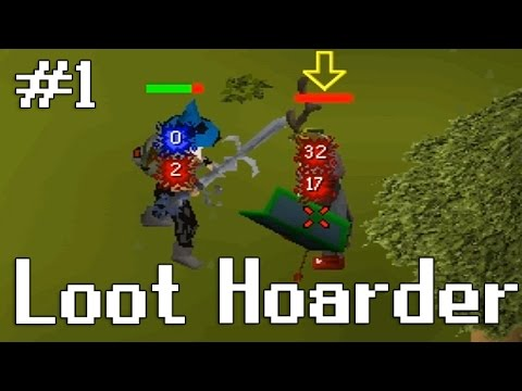 Loot Hoarder OSRS - Low Level AGS Pure - #1
