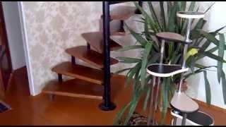 видео лестница винтовая