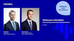 Webinaari säästäjille: Miten kannattaa toimia tässä markkinatilanteessa? | Nordea Pankki 15.4.2020