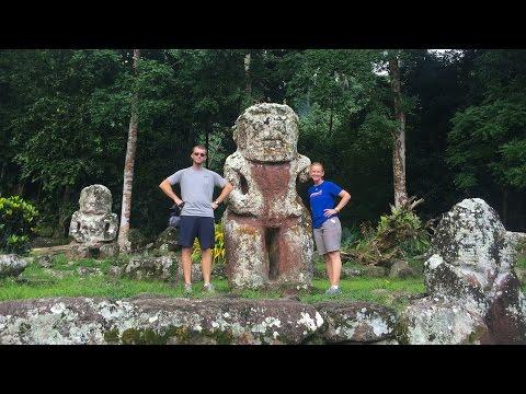 25 Waterfalls, Tikis & Mantas in the Marquesas Islands