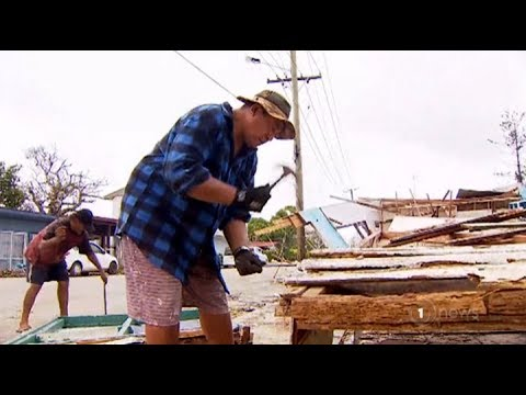 Tongans pulling together to bring nation back to its feet after Cyclone Gita