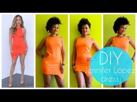 DIY | How To Sew a Dress Like Jennifer Lopez | Sewing For Beginners