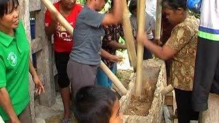 Musik Lesung dan Tradisi Menumbuk Padi ma 39 lambuk pare Ala Toraja