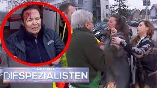 Wutausbruch extrem: Frau schlägt mit High Heels um sich! | Birgit Maas | Die Spezialisten | SAT.1 TV