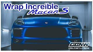 Porsche Macan S con un Wrap Impresionante | GLAUBENWRAPS TV
