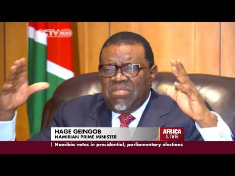 Interview with Namibian Prime Minister Hage Geingob