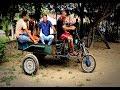 Agricultor transforma moto em carro para serviço em propriedade rural, em Conceição