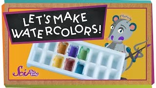 Make Your Own Watercolors!