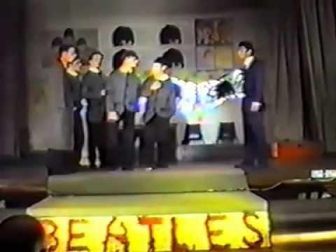 Broadgreen Comp School Play 1994   John, Paul, George, Ringo       and Bert