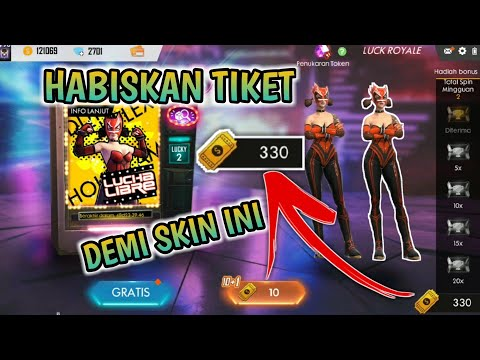 HACK GOLD ROYALE ??? COBAIN TRIK SPIN LAMA, APAKAH MASIH WORK?? FREE FIRE INDONESIA