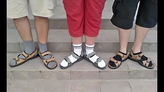 Сндалии с носками - это модный тренд?!
